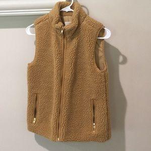 J Crew Factory Fleece Vest